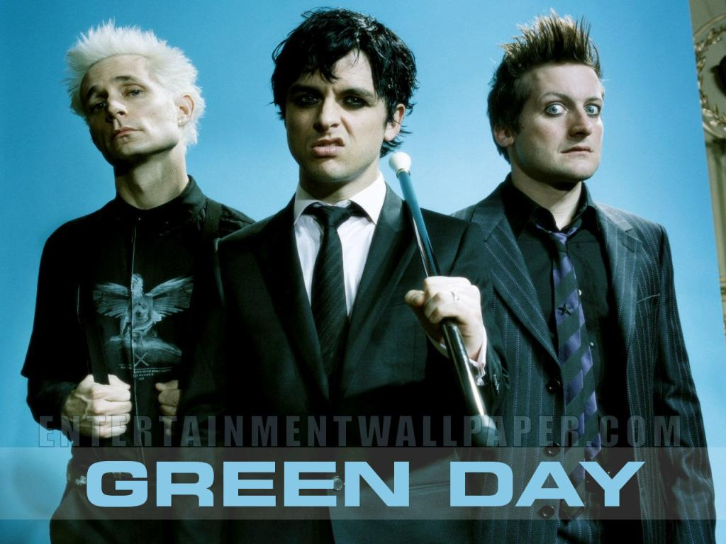 Green Day Wallpaper #4 1024 x 768