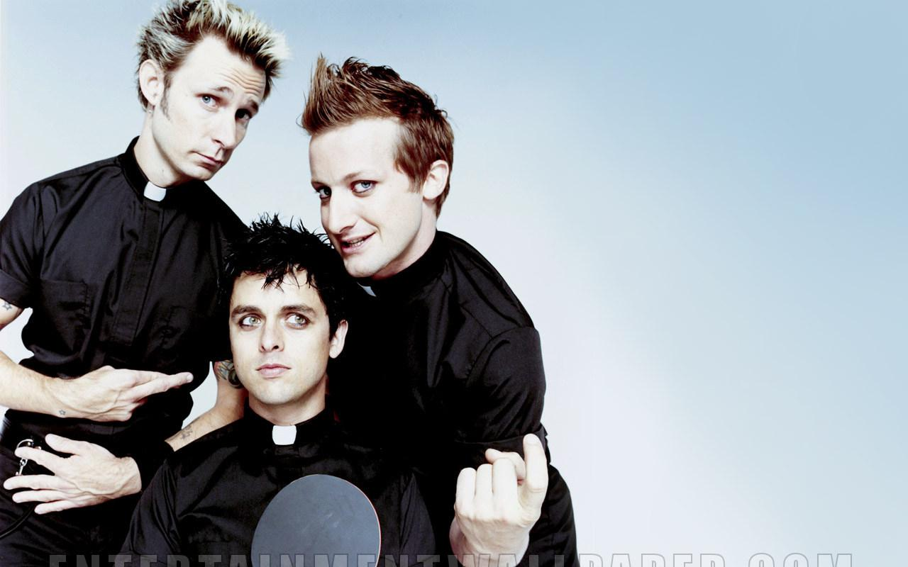 Green Day Wallpaper #2 1280 x 800