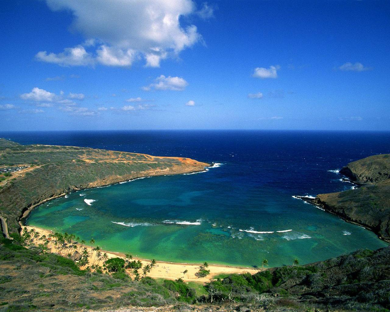 Hanauma Bay, Oahu -  Wallpaper #1 1280 x 1024