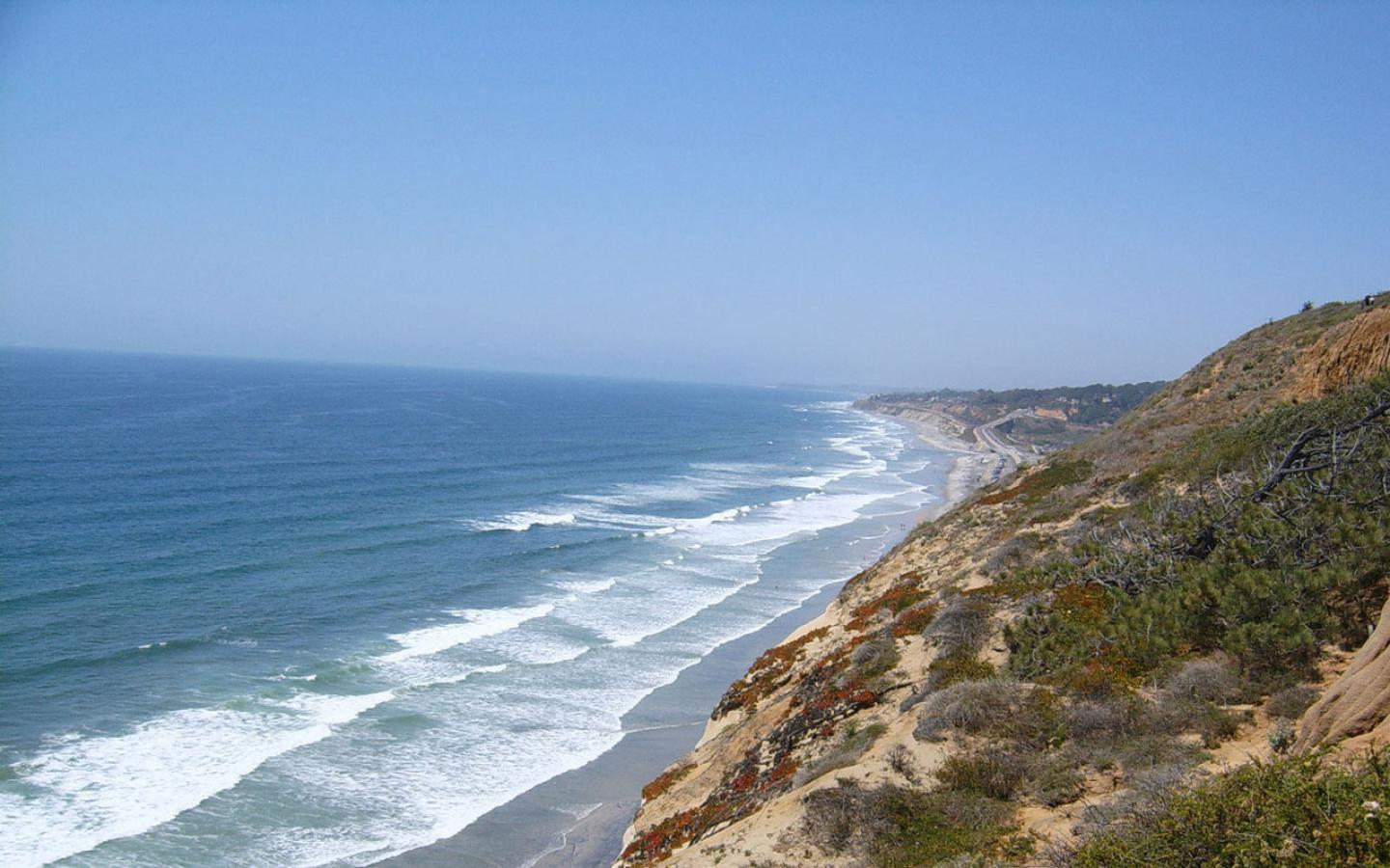 Torrey Pines State Beach, California Wallpaper #1 1440 x 900